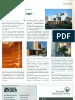 BDB - Nachrichten 1-2008 - Projektbericht - Haus Liebscher und Eisenmann Dachau