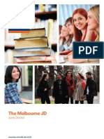 University of Melbourne JD Brochure