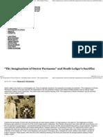 _The Imaginarium of Doctor Parnassus_ and Heath Ledger's Sacrifice - The Vigilant Citizen