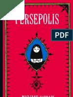 Persepolis - Marjane Satrapi