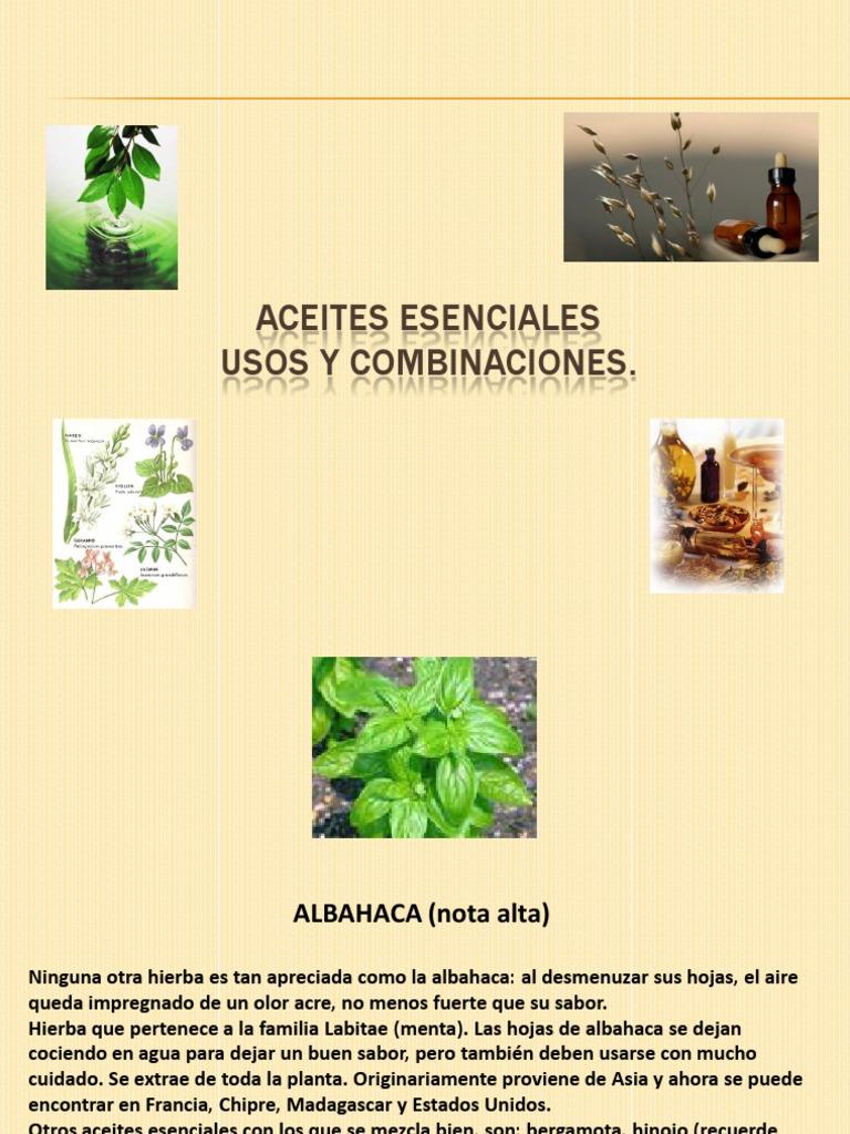 Aceites esenciales usos y for Aceites esenciales usos