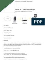 Cómo configurar un 11n A... - Bienvenido a TP-LINK