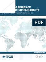 New Geographies of Corporate Sustainability_EMERGING MARKET PERSPECTIVES FOR RIO 20.pdf