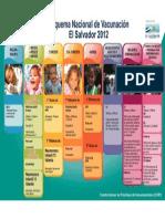 Esquema Nacional de Vacunacion 2012