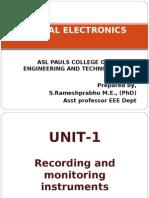 Medical Electronics 1