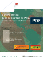Cultura Politica de La Democracia en El Peru 20010-1