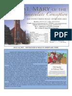 St Mary Avon July 14 Bulletin