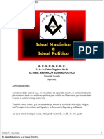 Izurieta, Victor - Ideal Masonico e Ideal Politico