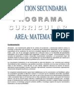 DISEÑO CURRICULAR MATEMATICA - copia