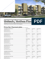 Anthea Floor Pricelist