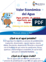 VALOR ECONÓMICO DEL AGUA-HUARAZ 2012