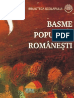 Basme Populare Romanesti (Aprecieri)-Copy