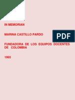 In Memorian Marina Castillo Pardo