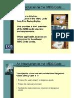 Imdg Code intro lesson