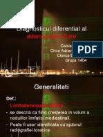 Diagnosticul Diferential Al Adenopatiei Hilare