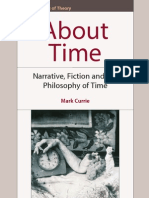 About Time - Narrative, Fiction and the Philosophy of Time