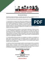 Comité Central - Declaración Pública - Julio de 2013