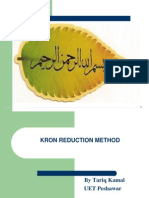 Kron reduction Method in power system