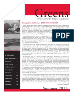 Rutgers Professional Golf Turf Management School – 2013 Alumni Newsletter