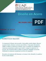 DIAPOSITIVAS DISEÑO EN ACEROS-CLASE 03