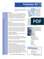 MidSouth Packaging, Inc. CONTAINER DRI ii   DESICCANT