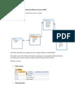 Implementación de la base de Datos en access 2010