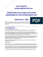 Protecting the Latino Vote After Weakening of the Voting Rights Act