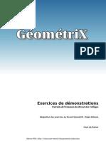 [GéométriX] Exercices de Brevet