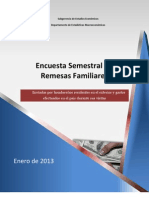 Remesas Familiares 012013