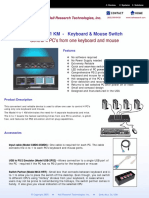 4-to-1 KM Brochure(4 Channel Keyboard & Mouse Switch)