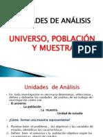 6.- UNIVERSO, POBLACIÓN Y MUESTRA