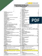 Regulamentul oficial FIA GT 2009