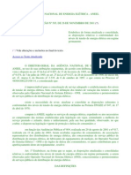 Resolução ANEEL - Variação de tensão - A9RD5A7