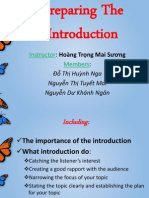 Preparing Your Introduction