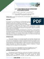 Desarrollo y Caracterización de Hormigones Autocompactantes