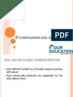 CONFIGURING SQL SERVER