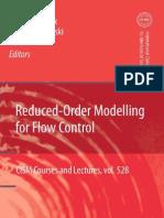 Reduced Order Modelling for Flow Control (edited by BERND R. NOACK, MAREK MORZYNSKI, GILEAD TADMOR)