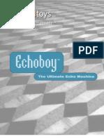 EchoBoy Manual