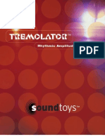 Tremolator Manual