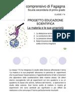progetto scienze