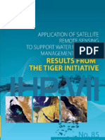 Application of satellite remote sensing to support water resources management in Africa: Results from the TIGER Initiative