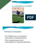 Velocidad en Futbol