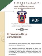 Teoria de la comunicacion - El fenomeno comunicativo