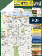 Savannah Tourist Map