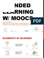 Blended Learning W/ MOOCs