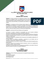 Reglamento General Del Centro de Alumnos