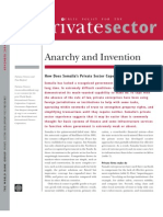 Anarchy and Invention
