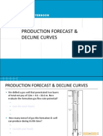 Day 3 Pm - Production Forecasting & Decline Curves