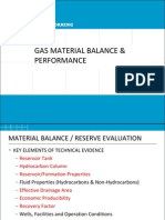 Day 4 Am - Gas Material Balance