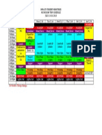 NC Mission Trip Schedule